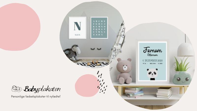 Babyplakaten - Plakat av baby
